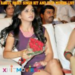 Rakul Preet Singh Hit and FLop Movies List